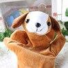 10pc cartoon dier fluwelen finger puppet finger speelgoed vinger pop baby doek onderwijs handgemaakte baby speelgoed baby gift bebe reborn 4