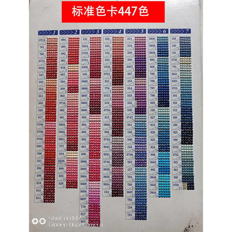 Youran 2.8 Mm Khối Lập Phương Rubik Hình Tròn Cho Diy Tranh Gắn Đá Thêu Phụ Kiện Hạt Supplyment Tiêu Chuẩn 447 Màu