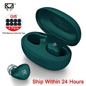 Image 1 - KZ S1D/S1 TWS Không Dây Điều Khiển Cảm Ứng Bluetooth 5.0 Năng Động/Lai Tai Nghe Nhét Tai Tai Nghe Loại Bỏ Tiếng Ồn Tai Nghe Thể Thao