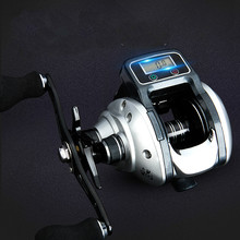 Digital Tackle Reel Tampilan
