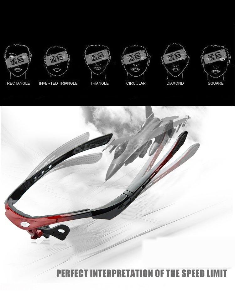 2019 Men Women bike bicycle cycling Eyewear Sunglass Outdoor Glasses  UV400 Sports 5 Lenses (Includes CPL PL))|Cycling Eyewear| |  - title=