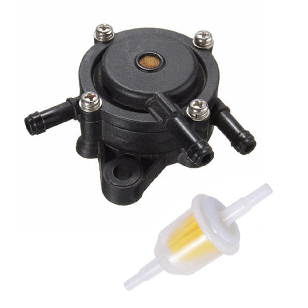 Parts Lawn Mower Fuel Pump Stratton Lawn Small Engine Patio Tractor Briggs Garden Fuel Filter Gas Vacuum For Kohler 17-25