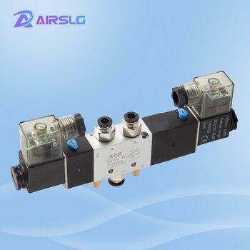 4V130C 4V130C-06 4V230C-08 4V330C-10 4V430C-15 valves with Muffler connector 4mm/6mm/8mm/10mm/12mm 5/2 5/3 way solenoid valve