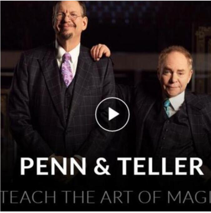 Penn & Teller Teach The Art Of Magic Magic Tricks MasterClass
