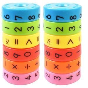 4 Sets Kids Magnetic Arithmeti