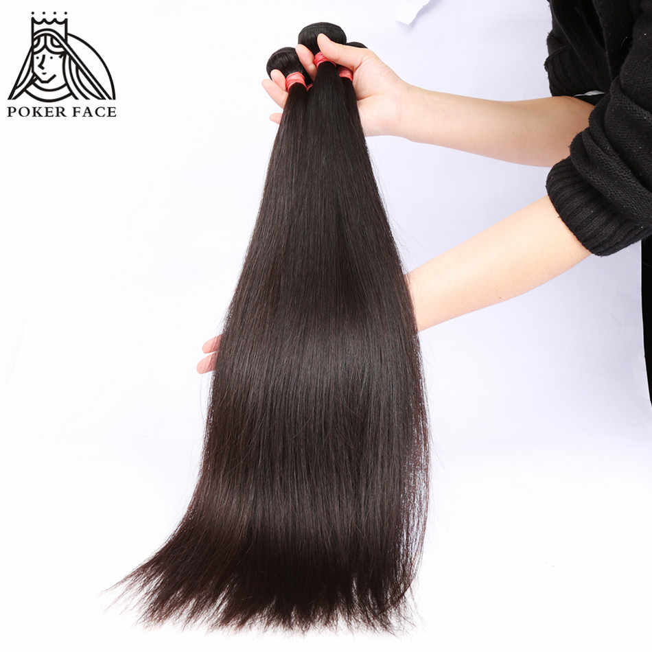 Poker Face Malásia Afro Kinky Curly 1/3/4 4bundles/Lote 100% Remy Do Cabelo Humano Weave Bundles cor Natural Frete Grátis