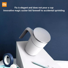 Xiaomi 300ml Not Pouring Cup Innovation Magic Sucker Splash Proof Nonslip ABS Double Insulation 304 Stainless Office Home cup