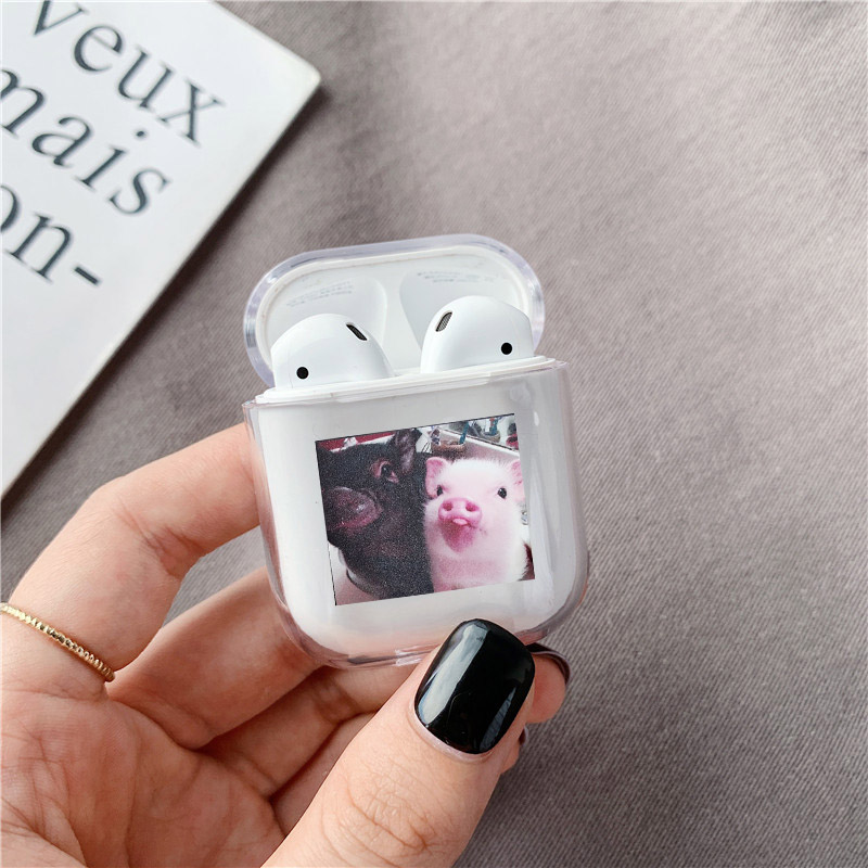 Funny Nostrils Pattern Case For AirPods Pro 2