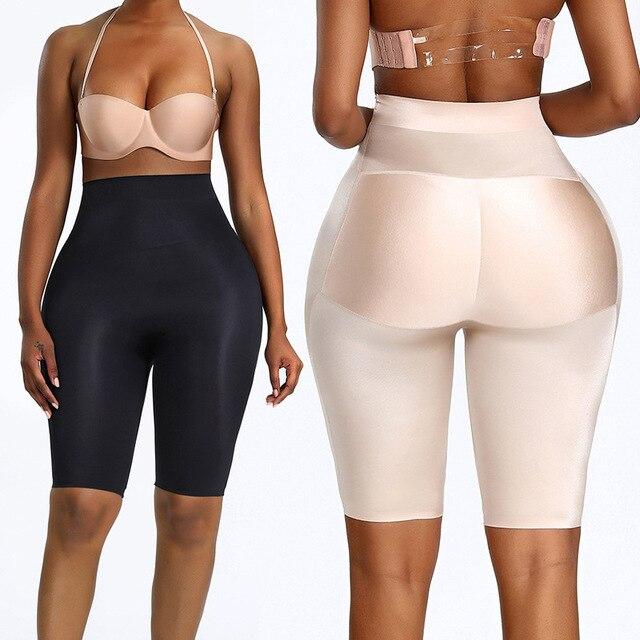 חדש נשים התחת מרים מכנסיים מרופדים Enhancer בקרת תחתוני גוף Shaper מזויף ירך תחתונים