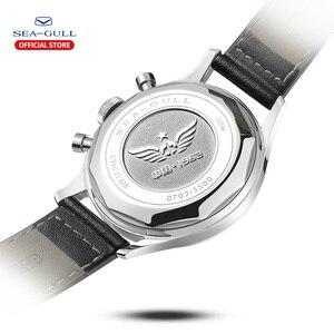 Image 3 - Ручной Хронограф, часы пилоты в стиле ретро, памятные механические часы ограниченного выпуска