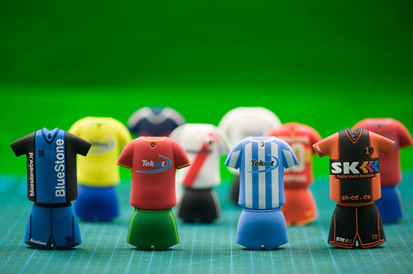Football-Fans USB Cute Cartoon 4GB 8GB 16GB 32GB 64GB Pendrive Gifty-Stick Creative