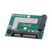 Adaptador de placa modular Convertidora de tarjeta Mini Pcie SSD de alta calidad, MSATA SSD a SATA 6.0gps de 2,5 pulgadas, 1 unidad