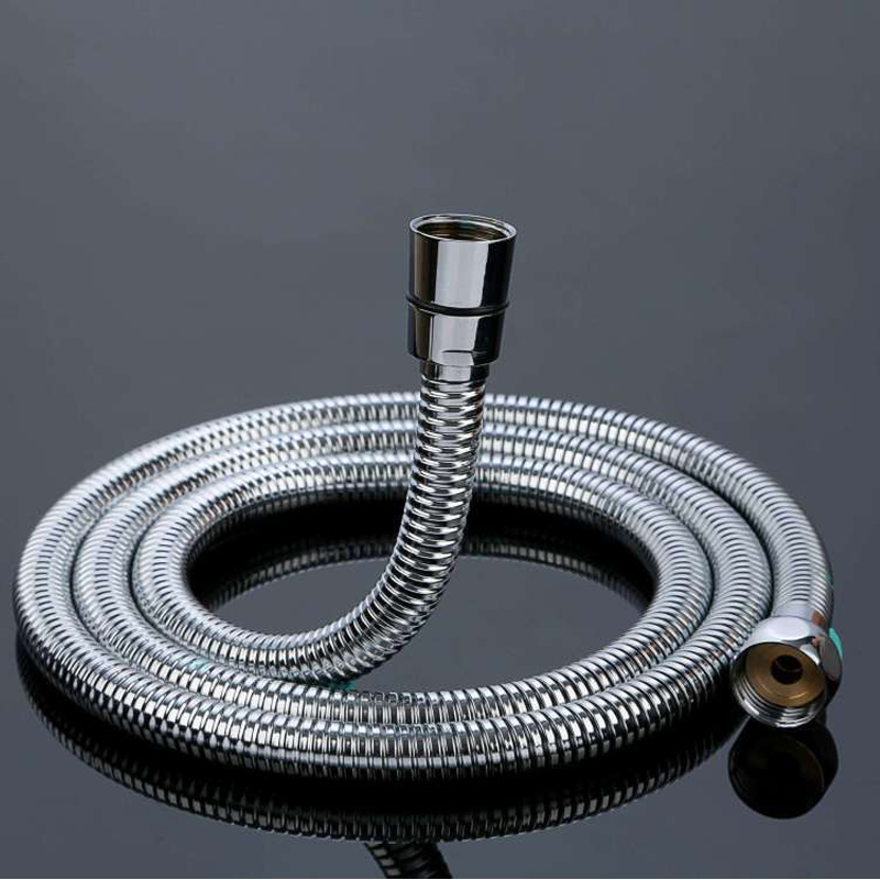 Dofaso G1/2 Shower Hose Stainless Steel Anti-explosion Soft Flexible Bathroom Water Pipe Hose Shower Room Accessories