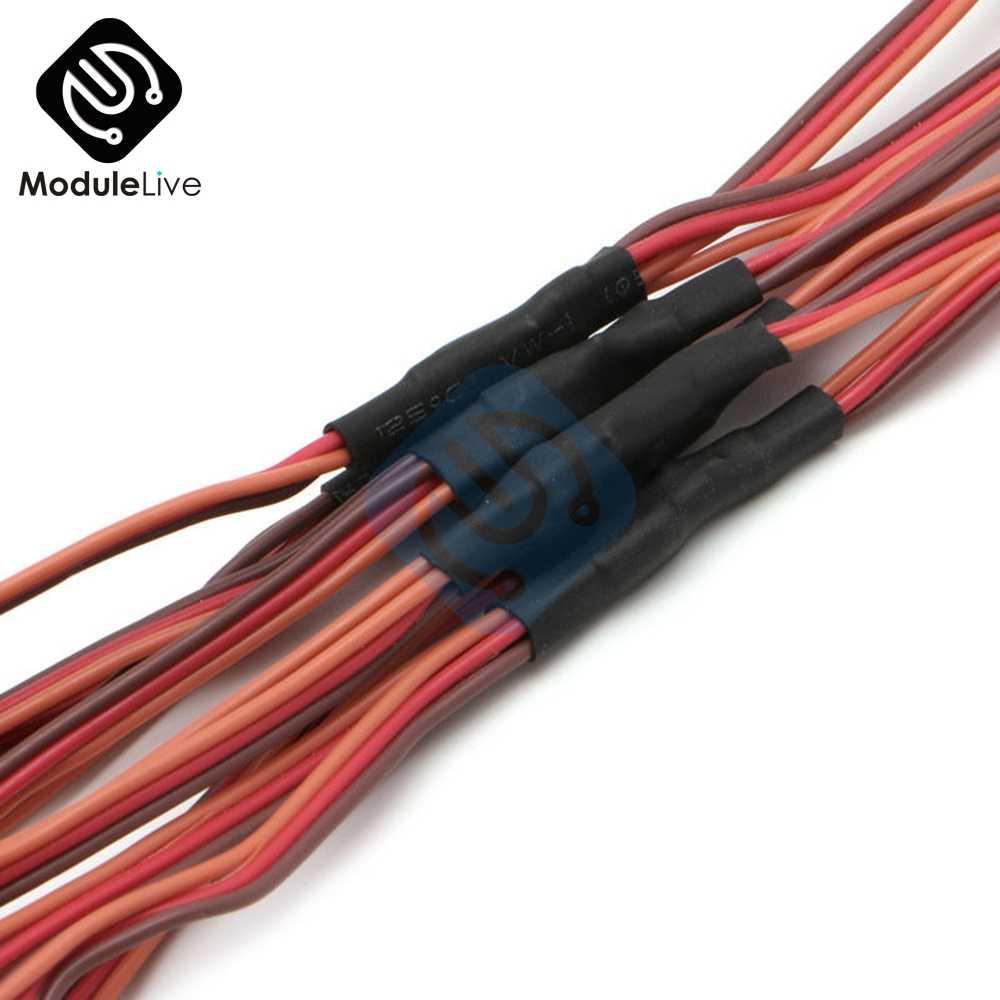 150mm serwo RC w stylu Y męski na żeński JR linii drutu przewód przedłużający kabel przewodzący złącze 150mm