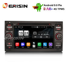 "Erisin ES7766FB 7"" Android 9.0 Oreo Car DVD GPS DAB+ Bluetooth OBD 4G for Ford C/S-Max Galaxy Kuga Focus Transit(China)"