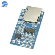 MP3 декодер ЦАП Плата GPD2846A TF карта MP3 аудио декодер плата 2 Вт модуль усилителя для Arduino decodificador анализатор