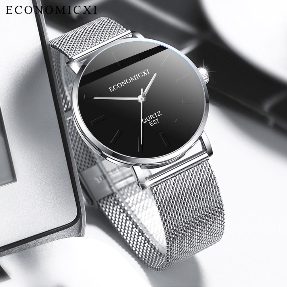 DUOBLA Watch Men Quartz Watches Mens Watches Top Brand Luxury Waterproof Stainless Steel Band Casual Wristwatch Watch For Men