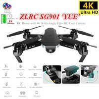 SG901 RC Drone 4K professionnel quadrirotor avec caméra grand Angle flux optique Quadrocopter hélicoptère jouets pour enfant Dron VS XS816