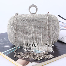 Украшение алмаз со стразами, Женская Роскошная вечерняя сумка клатч-кошелек, модная сумочка, вечерние платья для торжеств