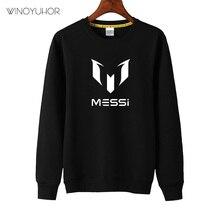 Bambini Messi Lettera Logo Stampa Felpe Ragazze Dei Ragazzi di Autunno Casual Magliette E Camicette di Calcio Per Bambini Felpe Hip Hop Pullover