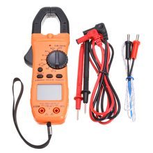 1PC 6000 True TRMS Counts Digital Clamp Meter Tester AC/DC Auto Range Multimeter Measurement Tool With Backlit LCD Screen yh335 6000 counts auto range ac clamp meter