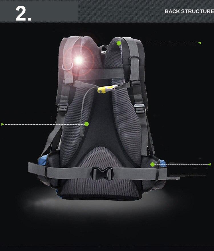 multifuncional impermeável durável mochilas ao ar livre