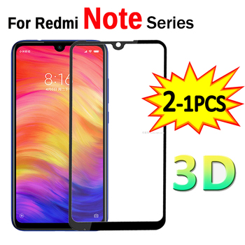 1-2pcs 3D Glass On Redmi Note 7 8 9 Pro Protective Tempered Safety Glass For Xiaomi Redmi Note 7 8 9 Pro Note7 Screen Protector
