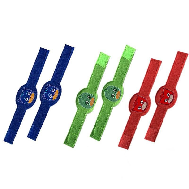 PJ Masks Sports Bracers Juguete Wristband Bracelet Catboy Owlette Gekko Action Figures Cosplay Birthday Gift Toys For Child