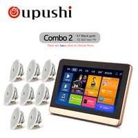 7 Touch screen In wall Android Amplifier With HDMI,Home Audio Bluetooth Digital Stereo Amplifier,WiFi Home Theater System