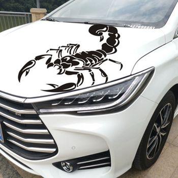 1Pc 3D skorpiony samochodów naklejki ciała ciężarówki okno wodoodporna pcv samochodów stylizacji Auto naklejka samochodów Bonnet boczne paski naklejka ze zwierzętami tanie i dobre opinie Bonytain Głowy CN (pochodzenie) Zwierząt wzór Inne naklejki 3d Karoserii Scorpions car Sticker Approx 30cm x 12cm 11 8in x 4 7in