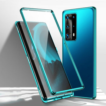 360 Full Magnetic Case For Huawei P40 Pro 5G Mate 30 20X P30 Double Glass Metal Bumper Honor X10 MAX 30S Note 10 9X 8X V30 Case