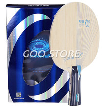 Yinhe pro-01 alc (zhu yi especial) visceria tipo lâmina de tênis de mesa original yinhe pro 01 galaxy raquete ping pong bat paddle