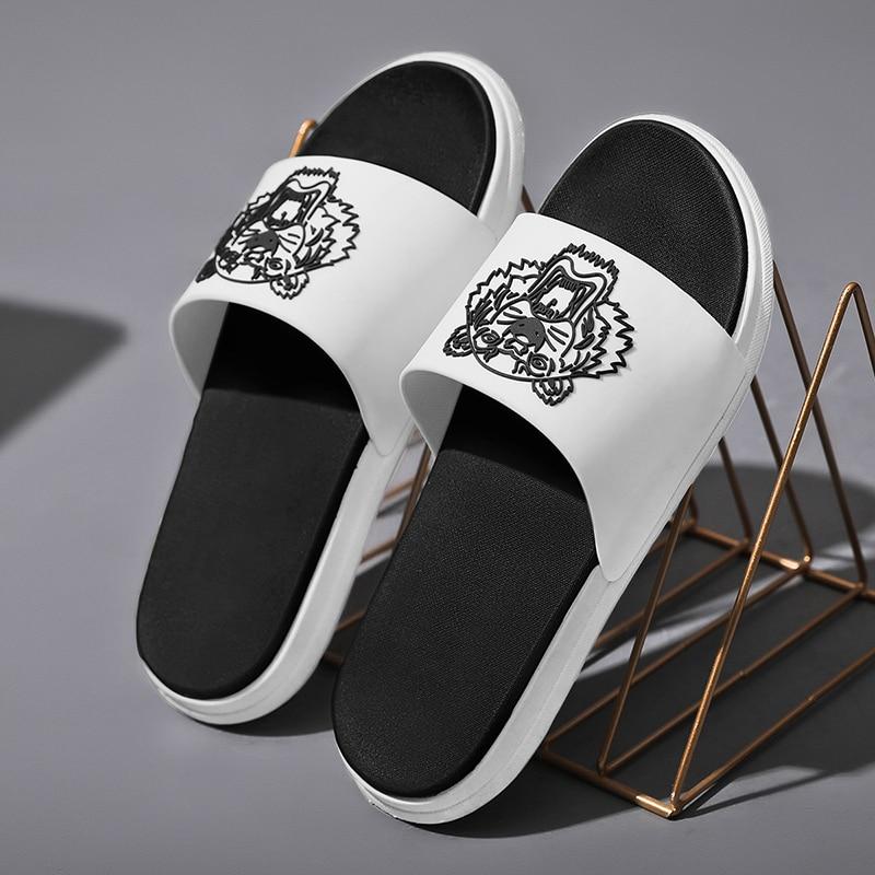 Couple Slippers Men's Slippers Thick Soled Soft Soled Sandals Women's Slippers Flip Flop Slide for Men and Women Eva Slippers
