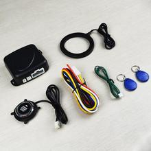 Car Auto Alarm One Start Stop Engine Starline Push Button Rf