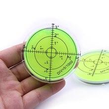 Measuring-Instruments-Tool Bubble-Level Round Universal Bullseye Green Circular 60x12-Mm