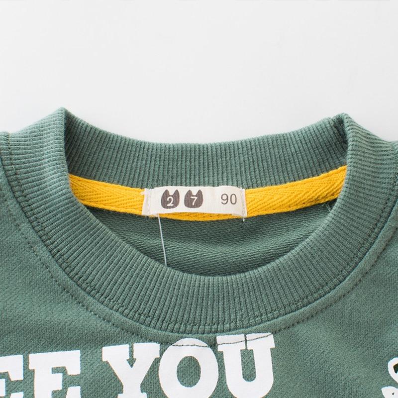 Cartoon Children's Sweatshirt for Girl Sweat Shirt Warm Plus Velvet Child Sweatshirt for Boy Kids Hoodies Baby Winter Clothes 15 5