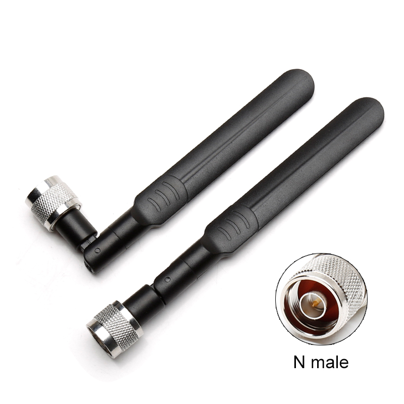 4G Lte 3G GSM Antenna Paddle Type Collapsible Omnidirectional High Gain 8dbi N Male Vertical Polarization 700-2700MHz