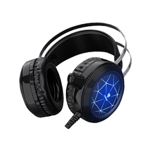 цена на Gaming Headset Wired Professional Gamer Headset Gaming Headphone 7.1 Surround Noise Cancelling HD Mic RGB Light for PS4 PC