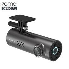 Ban Đầu 70mai Dash Cam 1S Tiếng Anh Nhìn Xuyên Màn Đêm DVR Xe Ô Tô 1080HD Camera Điều Khiển Giọng Nói 130FOV G  cảm Biến Bảng Điều Khiển