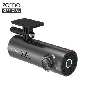 Image 1 - Original 70mai Dash Cam 1S Englisch Vision Nacht Vison Auto DVR 1080HD Auto Kamera voice control 130FOV G  sensor Dashboard