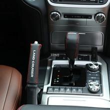 De coche de cuero de freno de mano para Toyota Land Cruiser 200 LC200 2008, 2009, 2010, 2011, 2012, 2013, 2014, 2015, 2016, 2017, 2018, 2019