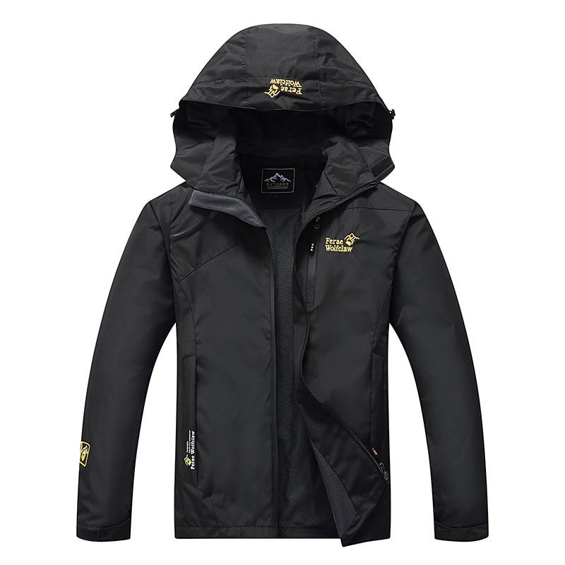 2020 New Men's Winter Fur Warm Fishing Trekking Climb Ski Jackets Outdoor Waterproof Sports Camping Hiking Clothing
