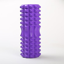 Yoga Column Fitness Pilates Foam Rolle Blocks Train Gym Massage Grid Trigger Point Therapy Physio Exercise Roller