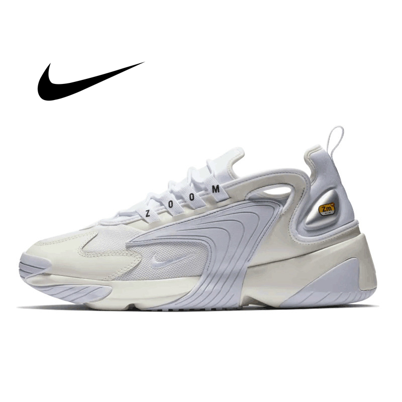 Original WMNS NIKE ZOOM 2K Men Running Shoes New Pattern Restore Ancient Ways Dad Shoes Motion Comfortable Sneakers AO0269-101