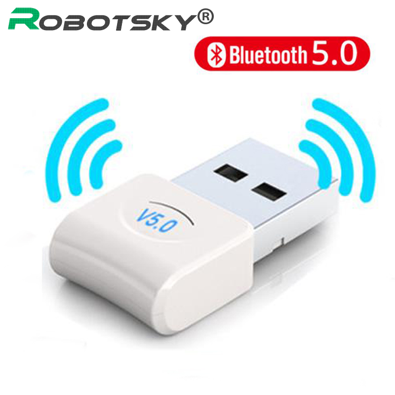 Micro USB Bluetooth Dongle Adapter V5.0 For Laptop Tablet Wireless Music Audio Transmitter Receiver for PC Computer Headphone