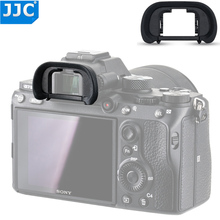 JJC عدسة الكاميرا لينة عدسة الكاميرا حامي العين لسوني a7 II a7 III a7R a7R II a7R III a7S a7R IV a9 II يحل محل FDA EP18
