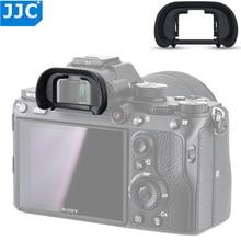 Jjc カメラ接眼レンズソフトファインダープロテクターソニー a7 ii a7 iii 用 a7R a7R ii a7R iii a7S a7R iv a9 ii 置き換え FDA EP18