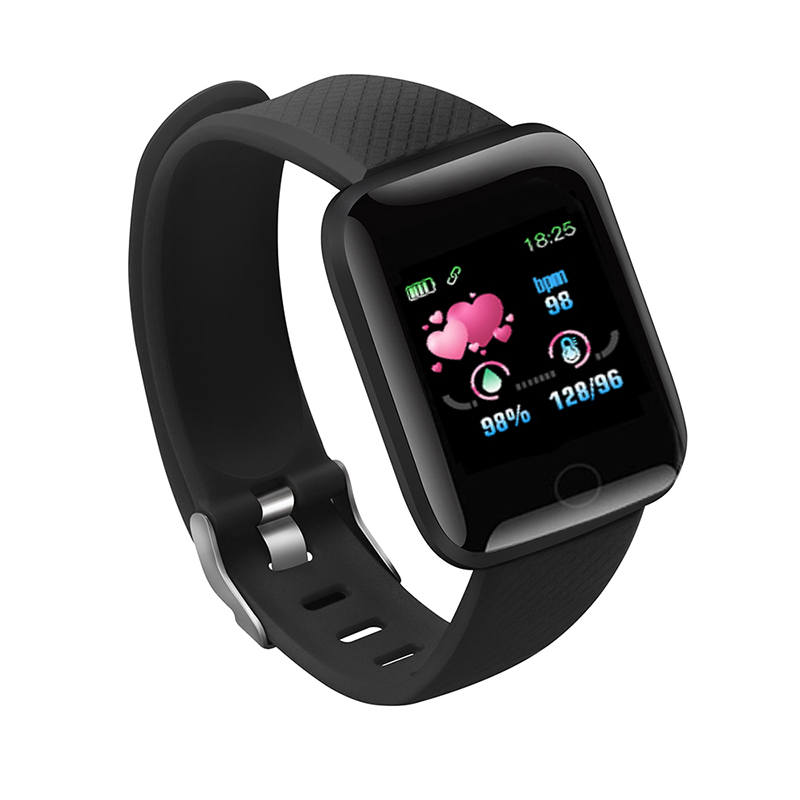 Smart Watch 116 Plus Wristband Fitness Blood Pressure Heart Rate Android Pedometer D13 Waterproof Sports Band Z2 WS001