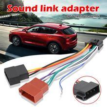 1 шт. провод жгута адаптер для Pioneer автомобиля стерео радио ISO стандартный разъем адаптер 16 контактный разъем Кабель автомобильные аксессуары