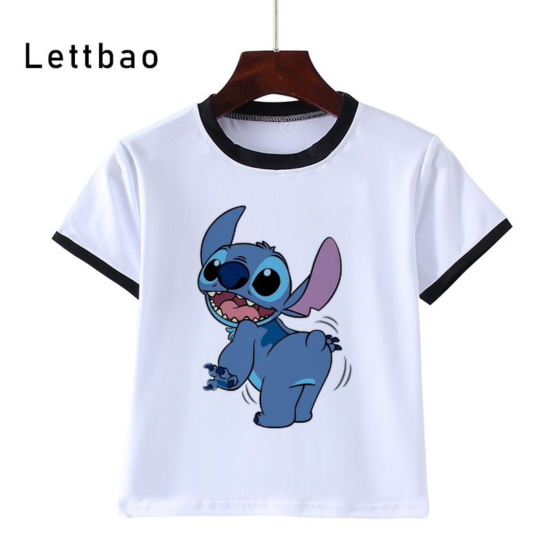 LILO STITCH Boys T Shirt Kids Tshirt The Hulk 3D Print Cool T-Shirts Child T-Shirts Tee Shirt Camiseta